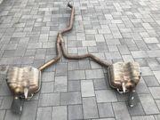 Auspuff Endschalldämpfer Abgasanlage Audi A6