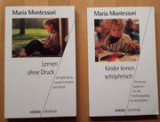 Montessori Fachbücher diverse Bücher