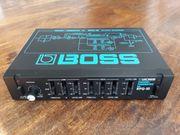 Boss RPQ-10 Preamp Parametric EQ