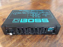 Boss RPQ-10 Preamp/ Parametric EQ