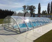 GFK Schwimmbecken Pool Überdachung Einbaubecken