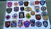 Amerikanische Polizei Abzeichen