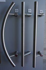 Stangengriffe Edelstahl Design für Haustüre