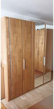 hochwertiges Schlafzimmer Kernbuche 6-tür Schrank