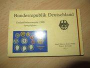 Bundesrepublik Deutschland Kursmünzensatz Umlaufmünzenserie 1998