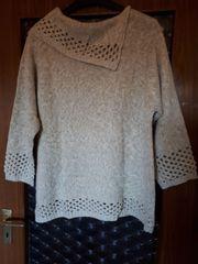 Winter-Pullover Gr 48 50 Beige