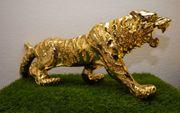 Neu Skulptur Tiger XXL 70cm
