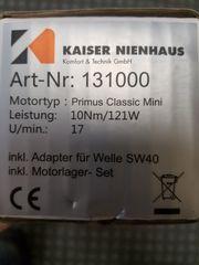 KAISER NIENHAUS Rohrmotor 131000 10Nm