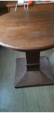 Esstisch rund Holz