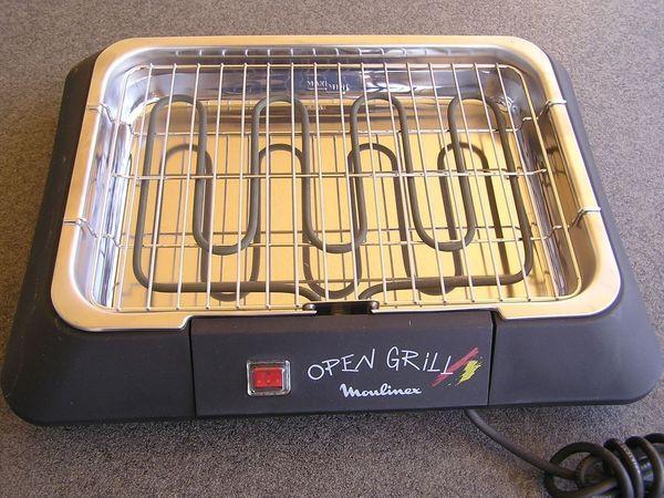 Neuer Elektrogrill - Barbecue - Tischgrill - Elektrischer