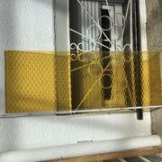 Butzenglasscheibe 140 x 70