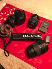 Canon EOS 400D inkl Objektiv