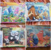 4 NEUE Puzzle Originalverpackt