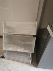SCHIEBER und Trennböden Bauknecht Kühlgefrierkombi