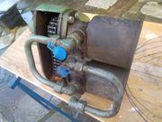Hydraulik-Motor mit Kettenantrieb