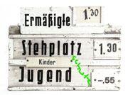 BSG Chemie Leipzig Eintrittstafel 1965