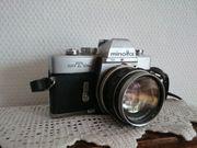 Minolta SRT101b Spiegelreflexkamera