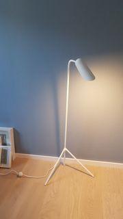 Stehleuchte Lampe weiß Design Boconcept