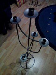 Schmiedeeisener Kerzenständer - Metallkerzenständer - Handarbeit