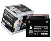 SIGA Motorrad Batterie AGM 20AH