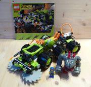 Lego Power Miners 8708 Gesteinsfräse