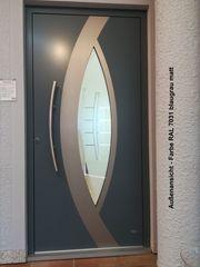 Aluminium-Haustür Ausstellungsstück Nr 3
