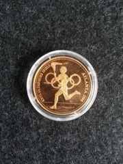 Die Olympischen Spiele 1996 Münze