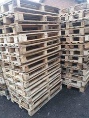 gebrauchte Einwegpaletten Industriepaletten 1200x800mm - volle