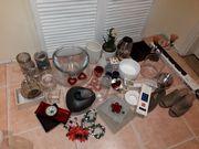 2 Flohmarkt-Kisten Glas Keramik