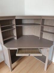 Eckschreibtisch Ikea Hemnes