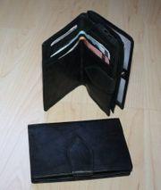 Damen Leder Geldbeutel Geldbörse Portemonnaie