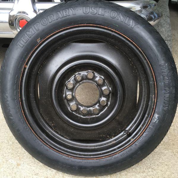 universal Notrad Ersatzrad temporary spare