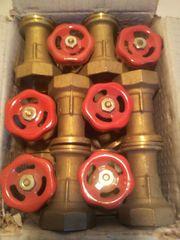 12 Stck Meibesflansch Pumpen-Absperrschieber
