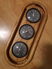 Wetterstation mit Thermometer Barometer Hygrometer