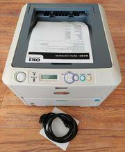 OKI B430dn Laserdrucker Duplexdruck Netzwerk