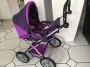 Puppenwagen Bayer lia-violett wie neu
