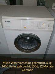 Miele Waschmaschine 6kg gebraucht mit