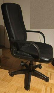 Bürostuhl Drehstuhl Kunstleder höhenverstellbar Stuhl