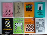8 Schachbücher