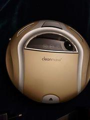 Verkaufe Gold Staubsaugerroboter neuwertig Cleanmaxx