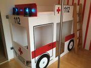 Hochbett Rettungswagen absolutes Einzelstück vom
