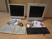 2 x 17-Zoll Monitor 2