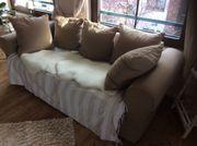1er und 2er Couch Landhausstil