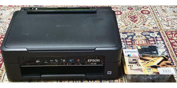 Epson XP-215 Netzwerkdrucker + Tintenpatronen