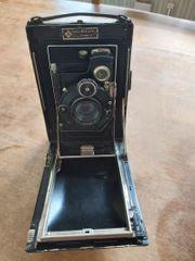 Etui- Plattenkamera - Compur mit Zeiss
