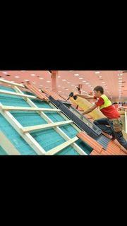 Dachdecker Dach arbeite