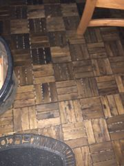Terassenplatten aus Holz