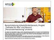 Bereichsleitung Arbeitsförderbereich Projekt Teilhabe für
