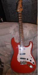 SCHNÄPPCHEN Schöne Vintage E-Gitarre Korea