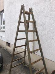 Holzklappleiter